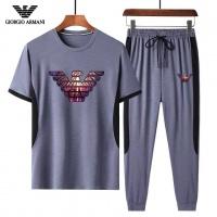 Armani Tracksuits Short Sleeved For Men #882826