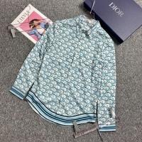 Christian Dior Shirts Long Sleeved For Men #883637