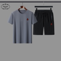 Prada Tracksuits Short Sleeved For Men #884504