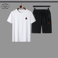 Prada Tracksuits Short Sleeved For Men #884506
