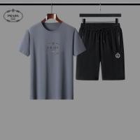 Prada Tracksuits Short Sleeved For Men #884595