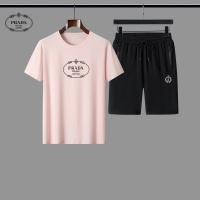 Prada Tracksuits Short Sleeved For Men #884596
