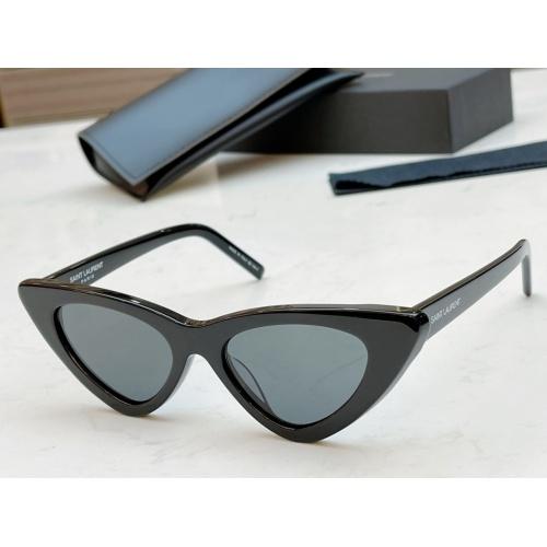 Cheap Yves Saint Laurent YSL AAA Sunglassses #888140 Replica Wholesale [$52.00 USD] [W#888140] on Replica Yves Saint Laurent YSL AAA Sunglassses