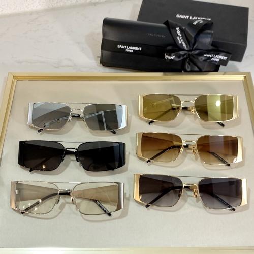 Cheap Yves Saint Laurent YSL AAA Quality Sunglassses #888246 Replica Wholesale [$66.00 USD] [W#888246] on Replica Yves Saint Laurent YSL AAA Sunglassses