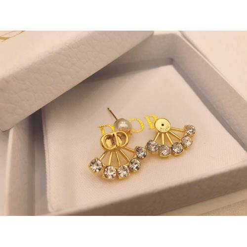Cheap Christian Dior Earrings #890728 Replica Wholesale [$27.00 USD] [W#890728] on Replica Christian Dior Earrings