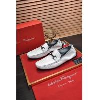 Ferragamo Salvatore FS Leather Shoes For Men #886641