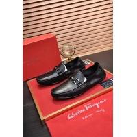 Ferragamo Salvatore FS Leather Shoes For Men #886642