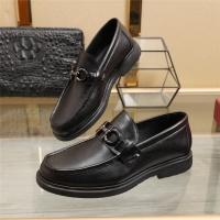 Ferragamo Salvatore FS Leather Shoes For Men #887260