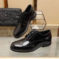 Ferragamo Salvatore FS Leather Shoes For Men #887262