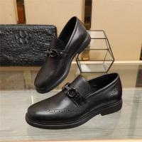 Ferragamo Salvatore FS Leather Shoes For Men #887263