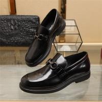 Ferragamo Salvatore FS Leather Shoes For Men #887264
