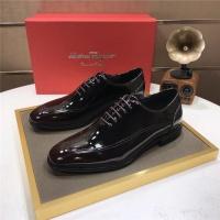 Ferragamo Salvatore FS Leather Shoes For Men #887937