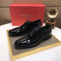 Ferragamo Salvatore FS Leather Shoes For Men #887938