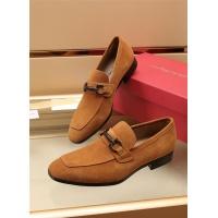 Ferragamo Salvatore FS Leather Shoes For Men #887954