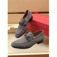 Ferragamo Salvatore FS Leather Shoes For Men #887955