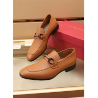 Ferragamo Salvatore FS Leather Shoes For Men #887957