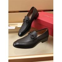 Ferragamo Salvatore FS Leather Shoes For Men #887958