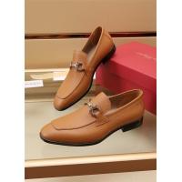 Ferragamo Salvatore FS Leather Shoes For Men #887959