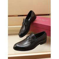 Ferragamo Salvatore FS Leather Shoes For Men #887962
