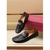 Ferragamo Salvatore FS Leather Shoes For Men #887965