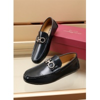 Ferragamo Salvatore FS Leather Shoes For Men #887977