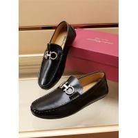Ferragamo Salvatore FS Leather Shoes For Men #887978