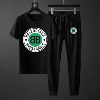 Balenciaga Fashion Tracksuits Short Sleeved For Men #888445
