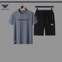 Armani Tracksuits Short Sleeved For Men #888462