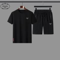 Prada Tracksuits Short Sleeved For Men #888483