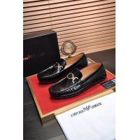 Armani Leather Shoes For Men #889438