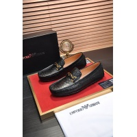 Armani Leather Shoes For Men #889441