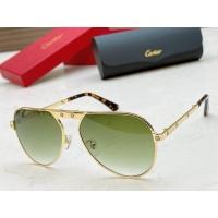Cartier AAA Quality Sunglasses #890477