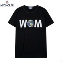 Moncler T-Shirts Short Sleeved For Men #891003