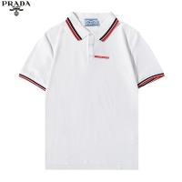 Prada T-Shirts Short Sleeved For Men #891022