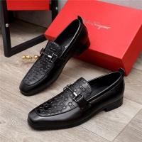 Ferragamo Salvatore FS Leather Shoes For Men #891159