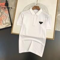 Prada T-Shirts Short Sleeved For Men #891381