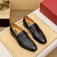 Ferragamo Salvatore FS Leather Shoes For Men #891794