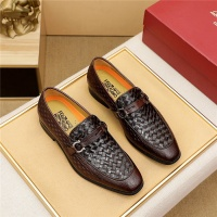 Ferragamo Salvatore FS Leather Shoes For Men #891795