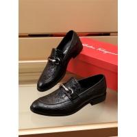 Ferragamo Salvatore FS Leather Shoes For Men #891804