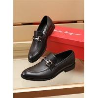 Ferragamo Salvatore FS Leather Shoes For Men #891805