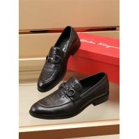 Ferragamo Salvatore FS Leather Shoes For Men #891806