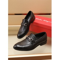 Ferragamo Salvatore FS Leather Shoes For Men #891808