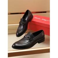 Ferragamo Salvatore FS Leather Shoes For Men #891810