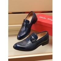 Ferragamo Salvatore FS Leather Shoes For Men #892104