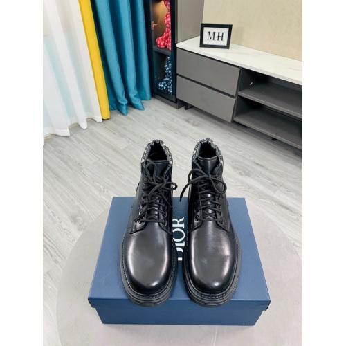 Cheap Christian Dior Boots For Men #899716 Replica Wholesale [$128.00 USD] [W#899716] on Replica Christian Dior Boots