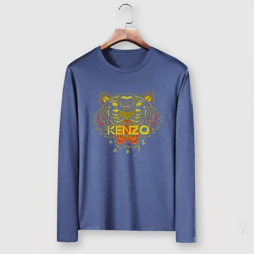 Cheap Kenzo T-Shirts Long Sleeved For Men #903396 Replica Wholesale [$29.00 USD] [W#903396] on Replica Kenzo T-Shirts