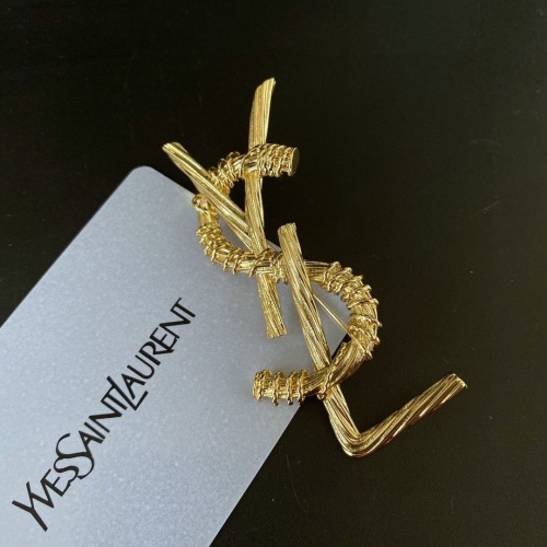 Cheap Yves Saint Laurent Brooches #904299 Replica Wholesale [$27.00 USD] [W#904299] on Replica Yves Saint Laurent Brooches
