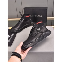 Armani High Tops Shoes For Men #898768