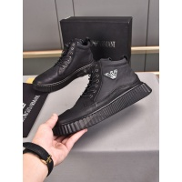 Armani High Tops Shoes For Men #898784