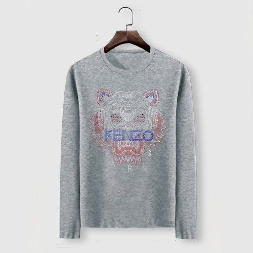 Cheap Kenzo T-Shirts Long Sleeved For Men #910690 Replica Wholesale [$34.00 USD] [W#910690] on Replica Kenzo T-Shirts